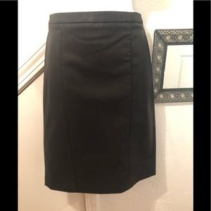 N w/o tags faux leather skirt by CK